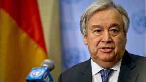 U.N. Chief Guterres Pushes For Two-State Vision Of Middle East Peace