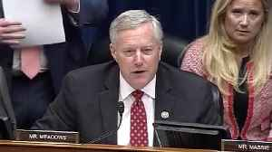 Mark Meadows During Hearing: 'It's My Time, Tlaib' [Video]