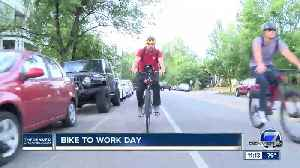 Wednesday is Bike to Work Day across the metro area: How to map your route and find food and water [Video]