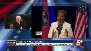 Post Mayoral Debate: Who was your favorite? p2 [Video]
