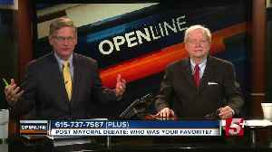 Post Mayoral Debate: Who was your favorite? p5 [Video]