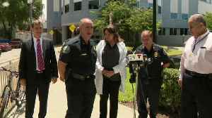 WEB EXTRA: Doral Police Chief Hernan Organvidez On The Injured Officer [Video]