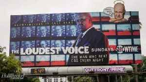 Conservatives Hijack Showtime's 'The Loudest Voice' Billboard in Los Angeles | THR News [Video]