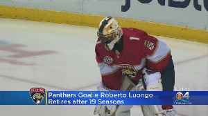 Florida Panthers Goalie Roberto Luongo Retires After 19 Seasons [Video]