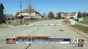 Has 3D crosswalk in KCK made a difference? We follow up [Video]