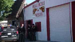 FBI Searches Clubhouse, Homes Belonging to Hells Angels in Northern California [Video]