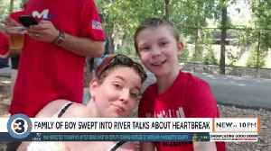 'He oozed life': Mother talks about waiting to find body of 11-year-old son lost in Wisconsin River [Video]