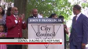 Chattanooga City Council renames building [Video]