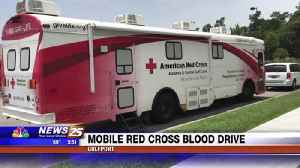 Mobile Red Cross blood drive in Gulfport