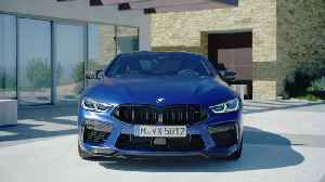2020 BMW M8 Competition Coupe and Convertible Exterior Design [Video]