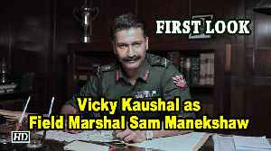 FIRST LOOK, Vicky Kaushal as Field Marshal Sam Manekshaw [Video]
