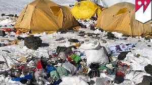Mt. Everest is turning into a big open toilet and garbage dump [Video]