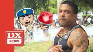 Benzino Cries Racial Harassment As He's Being Arrested — Again [Video]