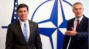 U.S. Defense Chief Looks To Rally NATO As Tensions With Iran Simmer [Video]