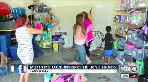 Tampa mom helps children in need [Video]