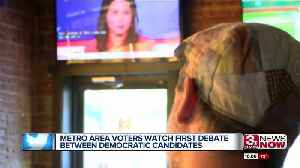 Metro-area voters take in first Democratic debate in Council Bluffs [Video]