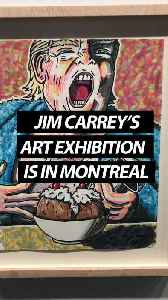 Jim Carrey's Political Art Exhibition Is Being Displayed In Montreal [Video]