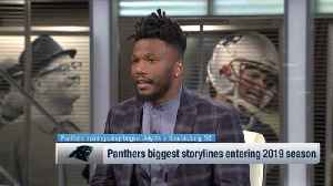 Former NFL cornerback Brandon Flowers: Carolina Panthers quarterback Cam Newton changing throwing motion will 'throw him off' as [Video]