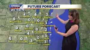 Dry Wednesday night, partly cloudy skies [Video]
