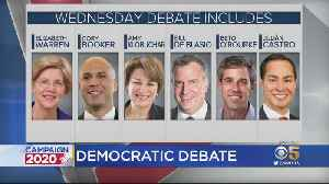 First Of Two Democratic Presidential Debates Set To Be Held In Miami [Video]