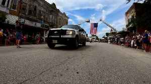 First Responders, Community Members Line Streets for Slain Illinois Deputy`s Procession [Video]