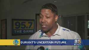 Experts And Fans Weigh In On Durant Entering Free Agent Market [Video]