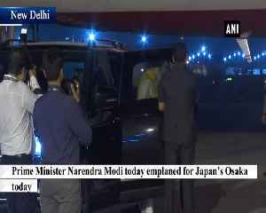 PM Modi emplanes for Osaka to attend G20 Summit [Video]