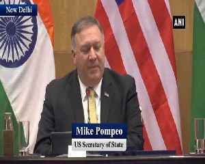 US-India partnership reaching new heights Mike Pompeo [Video]