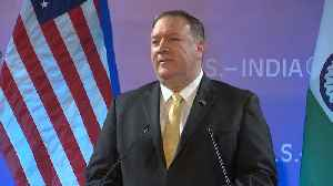 Doing all we can: Pompeo on Iran sanctions hitting India's crude oil supply [Video]