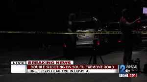 Man dead another shot in the leg in double shooting in Southwest Baltimore [Video]