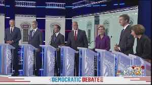 Crowded Field Of Democrats Face-Off In First Democratic Debate [Video]