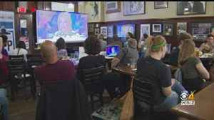 Democratic Debate Viewing Party At Doyle's In Jamaica Plain [Video]