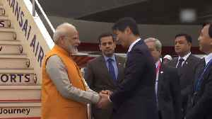 PM Modi in Osaka for G20 Summit, to meet Trump, Macron, Abe on sidelines [Video]