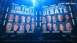 Highlights from Night 1 of the first Democratic debates [Video]