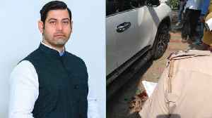 News video: Haryana Congress leader Vikas Chaudhary shot dead in Faridabad