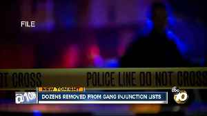Dozens removed from SDPD gang injunction lists [Video]