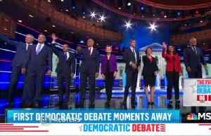 Democrats battle it out in first debate [Video]