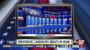 News video: Democrats get feisty in final stages of first 2020 debate