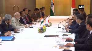 News video: PM Modi & Japan PM Shinzo Abe old friends, had warm meeting: Foreign Secy