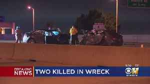 2 Dead After Wrong-Way Driver Crash On The Bush Turnpike [Video]
