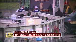 U.S. Coast Guard recovers missing man's body from Detroit River [Video]