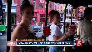 New tourist truck helps raise money for veterans [Video]