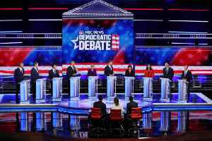 News video: Democrats' First Debate Focuses on Health Care and Immigration