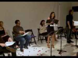 Guy Gets Girlfriend to Propose to Him During Staged Play Reading [Video]
