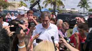 WEB EXTRA: Presidential Candidate Beto O'Rourke Speaks Outside Homestead Migrant Facility For Undocumented Children [Video]