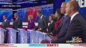 Field Of 2020 Democratic Presidential Hopefuls Take To The Stage [Video]
