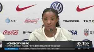 Rockville Centre Native Crystal Dunn At The World Cup [Video]