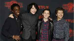 'Stranger Things' Stars Prank Fans At Wax Museum [Video]