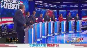 Second Debate Between Democratic Presidential Candidate Follows Wednesday's First Round [Video]