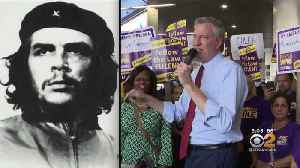 De Blasio Sparks Outrage After Quoting Che Guevara In Florida [Video]